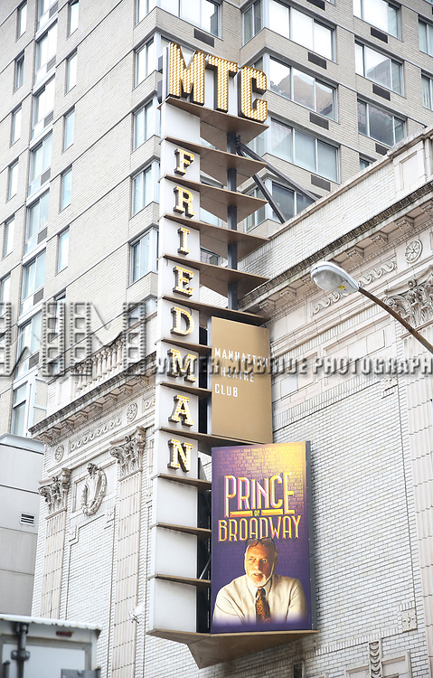 Theatre Marquee unveiling for 'Prince of Broadway' at Samuel J. Friedman Theatre on July 14, 2017 New York City.