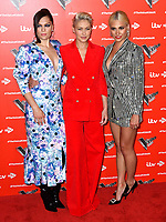 Jessie J, Emma Willis and Pixie Lott attend photocall to launch The Voice Kids, new ITV series of the children's talent show, at The RSA, London on June 06, 2019.<br /> CAP/JOR<br /> ©JOR/Capital Pictures