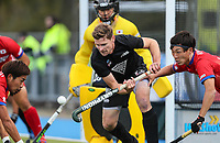 Stephen Jenness during the International Hockey match between the  Blacksticks Men and Japan, TET Multisport Centre, Stratford, New Zealand. Tuesday 15  October 2019. Photo: Simon Watts/www.bwmedia.co.nz/HockeyNZ