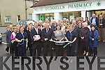 The Opening of O'Connells Pharmacy at Brendans by Mikey Sheehy park Tralee on thursday Front from left, Aisling Moore, Mikey Sheehy, Morgan O'Connell, Majella O'Connell and Mararet Doore.