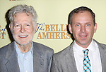 Playwright William Luce and  director Steve Cosson attend the Off-Broadway Opening Night Press reception for 'The Belle of Amherst'  at the Westside Theatre on October 19, 2014 in New York City.