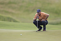 Jim Furyk (USA) on the 3rd green during Friday's Round 2 of the 117th U.S. Open Championship 2017 held at Erin Hills, Erin, Wisconsin, USA. 16th June 2017.<br /> Picture: Eoin Clarke | Golffile<br /> <br /> <br /> All photos usage must carry mandatory copyright credit (&copy; Golffile | Eoin Clarke)