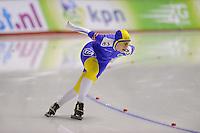 SCHAATSEN: CALGARY: Olympic Oval, 09-11-2013, Essent ISU World Cup, 1500m, Johanna Östlund, ©foto Martin de Jong