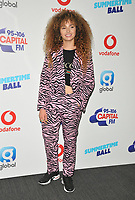 Ella Eyre at the Capital FM Summertime Ball 2018, Wembley Stadium, Wembley Park, London, England, UK, on Saturday 09 June 2018.<br /> CAP/CAN<br /> &copy;CAN/Capital Pictures