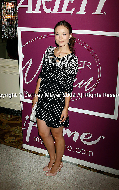 BEVERLY HILLS, CA. - September 24: Olivia Wilde arrives at Variety's 1st Annual Power of Women Luncheon at the Beverly Wilshire Hotel on September 24, 2009 in Beverly Hills, California.