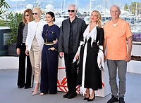 CANNES, FRANCE. May 15, 2019: Sara Driver, Tilda Swinton, Selena Gomez, Jim Jarmusch, Chloe Sevigny &amp; Bill Murray at the photocall for &quot;The Dead Don't Die&quot; at the 72nd Festival de Cannes.<br /> Picture: Paul Smith / Featureflash