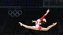 Yuki Uchiyama (JPN), <br /> AUGUST 7, 2016 - Artistic Gymnastics : <br /> Women's Qualification <br /> Balance Beam <br /> at Rio Olympic Arena <br /> during the Rio 2016 Olympic Games in Rio de Janeiro, Brazil. <br /> (Photo by Sho Tamura/AFLO SPORT)