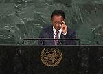 72 General Debate &ndash; 20 September <br /> <br /> His Excellency Hery Martial Rajaonarimampianina Rakotoarimanana, President of the Republic of Madagascar