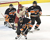 Eric Leroux, Patrick Mullen, Brian Carthas, Seamus Young - The Princeton University Tigers defeated the University of Denver Pioneers 4-1 in their first game of the Denver Cup on Friday, December 30, 2005 at Magness Arena in Denver, CO.