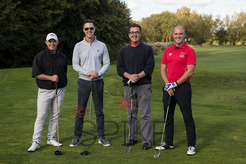 From left are Mark Platt, Andrew Gore, Ed Wright and Duncan James of Team Shakespeare Martineau