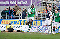 27/03/2010   Copyright  Pic : James Stewart.sct_jspa01_falkirk_v_hibernian  .::  SOL BAMBA CELEBRATES AFTER HE SCORES THE THIRD ::  .James Stewart Photography 19 Carronlea Drive, Falkirk. FK2 8DN      Vat Reg No. 607 6932 25.Telephone      : +44 (0)1324 570291 .Mobile              : +44 (0)7721 416997.E-mail  :  jim@jspa.co.uk.If you require further information then contact Jim Stewart on any of the numbers above.........