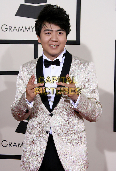 LOS ANGELES, CA - JANUARY 26 - Lang Lang. 56th GRAMMY Awards held at the Staples Center. <br /> CAP/ADM<br /> &copy;AdMedia/Capital Pictures