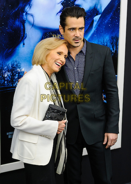 NEW YORK, NY - FEBRUARY 11: Eva Marie Saint, Colin Farrell  attends the 'Winter's Tale' world premiere at Ziegfeld Theater on February 11, 2014 in New York City.<br /> CAP/ADM/MSA<br /> &copy;Mario Santoro/AdMedia/Capital Pictures