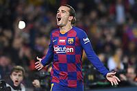 Antoine Griezmann celebrates after scoring a goal <br /> 07/12/2019 <br /> Barcelona - Maiorca<br /> Calcio La Liga 2019/2020 <br /> Photo Paco Largo Panoramic/insidefoto <br /> ITALY ONLY
