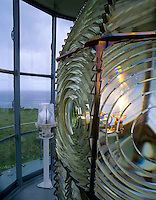 Lighthouse lens at Cape Blanco Lighthouse, Oregon