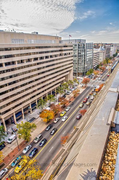K Street Downtown Washington DC Architecture