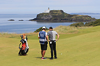 Rory McIlroy (NIR) on the 4th during Round 1 of the Aberdeen Standard Investments Scottish Open 2019 at The Renaissance Club, North Berwick, Scotland on Thursday 11th July 2019.<br /> Picture:  Thos Caffrey / Golffile<br /> <br /> All photos usage must carry mandatory copyright credit (© Golffile | Thos Caffrey)