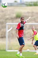 Getafe CF's Sergio Mora during training session. August 1,2017.(ALTERPHOTOS/Acero) /NortePhoto.com