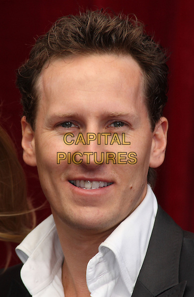 BRENDAN COLE .'An Audience with Michael Buble' at the London ITV Studios, South Bank, London, England..May 3rd, 2010.headshot portrait black white.CAP/JIL.©Jill Mayhew/Capital Pictures.