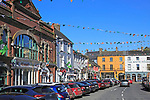 Historic buildings, Pearse Street, Kinsale, County Cork, Ireland, Irish Republic
