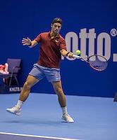 Rotterdam, Netherlands, December 13, 2016, Topsportcentrum, Lotto NK Tennis,   Tim van Terheijden (NED)<br /> Photo: Tennisimages/Henk Koster
