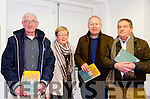 Pictured at the Rosalie Rice exhibition are l-r Paul O'Sullivan, Noleen & Mickey Ned O'Sullivan and Pete Hanley