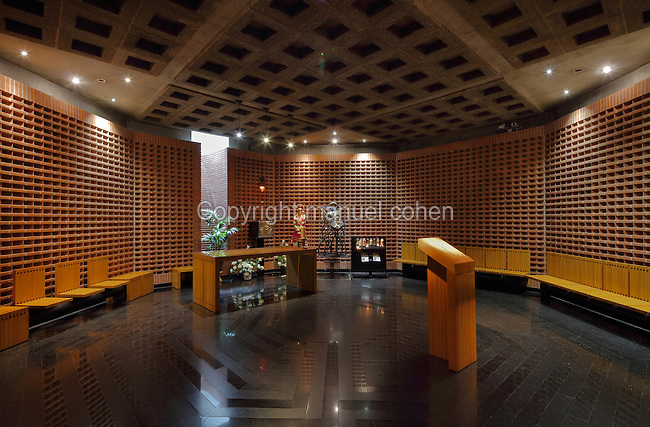 Octagonal Chapel For Private Ceremonies And Prayer, In Evry Cathedral Of  The Resurrection, Or