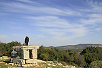 Israel, Upper Galilee, tomb of Shammai on Mount Meron