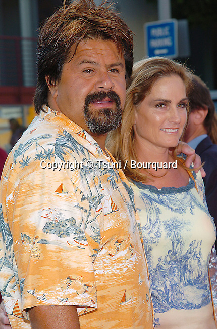 Miko Brando arriving at the Stepford Wives Premiere at the Bruin Theatre in Los Angeles. June 6, 2004.