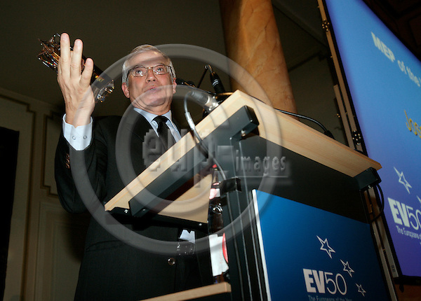 BRUSSELS - BELGIUM - 28 NOVEMBER 2006 -- EV50 Gala - The European of the Year Awards -- Josep BORRELL, President of the European Parliament, became the MEP of the Year.     PHOTO: ERIK LUNTANG / EUP-IMAGES