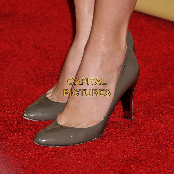 JESSICA BIEL .at The CNN Heroes: An All Star Tribute held at The Kodak Theatre in Hollywood, California, USA, November 22nd 2008.                                                                  .feet detail patent grey gray scuffed brown   shoes pumps .CAP/ADM/BP.©Byron Purvis/Admedia/Capital PIctures