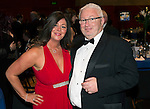St Johnstone FC Scottish Cup Celebration Dinner at Perth Concert Hall...01.02.15<br /> James Irvine and wife Sharon<br /> Picture by Graeme Hart.<br /> Copyright Perthshire Picture Agency<br /> Tel: 01738 623350  Mobile: 07990 594431