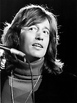 Bee Gees 1979 Robin Gibb at UNICEF concert at the UN
