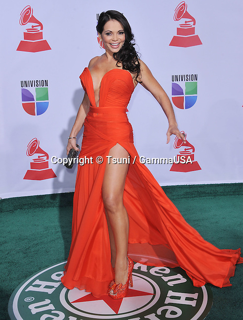 Julie Ferretti C  at the 12Th Latin Grammy Awards at TheMandalay Bay Hotel in Las Vegas.