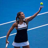 MONICA PUIG (PUR)<br /> <br /> Apia International <br /> Tennis - Apia International, 2016  - Tournament - Sydney Olympic Park, Sydney, New South Wales, Australia, January 2016<br /> <br /> &copy; AMN IMAGES / FREY