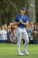 Rory McIlroy (NIR) reacts to barely missing his eagle putt on 15 during round 3 of the World Golf Championships, Mexico, Club De Golf Chapultepec, Mexico City, Mexico. 2/23/2019.<br /> Picture: Golffile | Ken Murray<br /> <br /> <br /> All photo usage must carry mandatory copyright credit (© Golffile | Ken Murray)