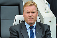 Ronald Koeman manager of Everton during the Premier League match between Brighton and Hove Albion and Everton at the American Express Community Stadium, Brighton and Hove, England on 15 October 2017. Photo by Edward Thomas / PRiME Media Images.