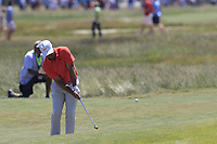 Paul Casey (ENG) chips onto the 7th green during Saturday's Round 3 of the 118th U.S. Open Championship 2018, held at Shinnecock Hills Club, Southampton, New Jersey, USA. 16th June 2018.<br /> Picture: Eoin Clarke | Golffile<br /> <br /> <br /> All photos usage must carry mandatory copyright credit (&copy; Golffile | Eoin Clarke)