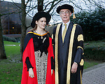 REPRO FREE<br /> 21/01/2015<br /> Sydney Freedman, Arizona, USA, Phd Arts Practice Irish World Academy of Music and Dance at the University of Limerick pictured with Professor Paul McCutcheon, Vice President Academic &amp; Registrar as the University of Limerick continues three days of Winter conferring ceremonies which will see 1831 students conferring, including 74 PhDs. <br /> UL President, Professor Don Barry highlighted the increasing growth in demand for UL graduates by employers and the institution&rsquo;s position as Sunday Times University of the Year. <br /> Picture: Don Moloney / Press 22