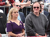 HOLLYWOOD, CA - MAY 04: Reese Witherspoon and Quentin Tarantino pictured at the ceremony honoring Goldie Hawn and Kurt Russell with a double star ceremony on The Hollywood Walk of Fame on May 4, 2017 in Hollywood, California. Credit: Faye Sadou/MediaPunch