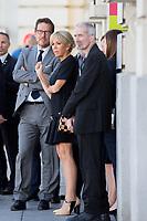 Melania Trump, Brigitte Macron - First Ladies visit the Magritte Museum in Brussels - Belgium