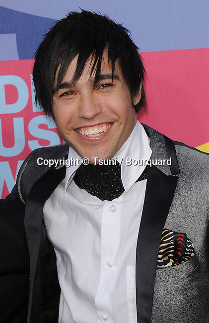 Peter Wentz -<br /> MTV - vma Awards 2008 on the Paramount Lot  In Los Angeles.<br /> <br /> headshot<br /> eye contact<br /> smile