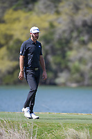 Dustin Johnson (USA) departs the 14th tee during round 1 of the World Golf Championships, Dell Match Play, Austin Country Club, Austin, Texas. 3/21/2018.<br /> Picture: Golffile | Ken Murray<br /> <br /> <br /> All photo usage must carry mandatory copyright credit (&copy; Golffile | Ken Murray)