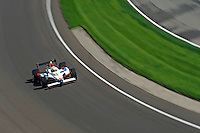 10-18 May 2008, Indianapolis, Indiana, USA. Mario Dominguez's Honda/Dallara.©2008 F.Peirce Williams USA.