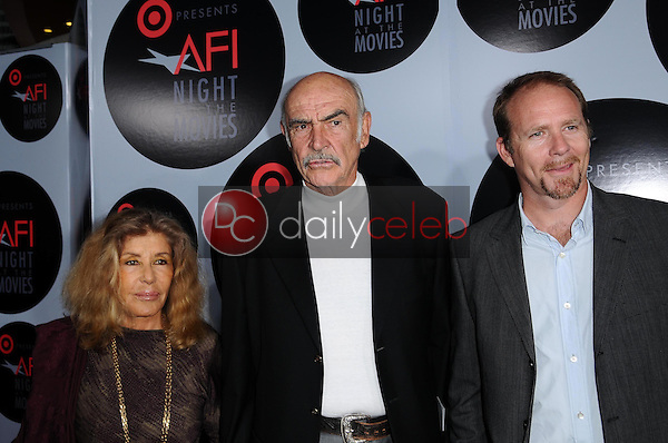 Micheline Roquebrune with Sean Connery and Jason Connery<br />at AFI Night at the Movies presented by Target. Arclight Theater, Hollywood, CA. 10-01-08<br />Dave Edwards/DailyCeleb.com 818-249-4998