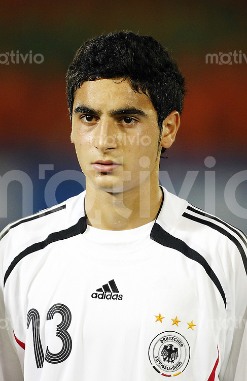12. FIFA U17 Weltmeisterschaft in Korea Deutschland - Trinidad Tobago Germany -Trinidad and Tobago Mehmet EKICI (GER), Portrait.