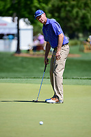 Stuart Appleby (AUS) watches his putt on 2 during round 1 of the Shell Houston Open, Golf Club of Houston, Houston, Texas, USA. 3/30/2017.<br /> Picture: Golffile   Ken Murray<br /> <br /> <br /> All photo usage must carry mandatory copyright credit (&copy; Golffile   Ken Murray)