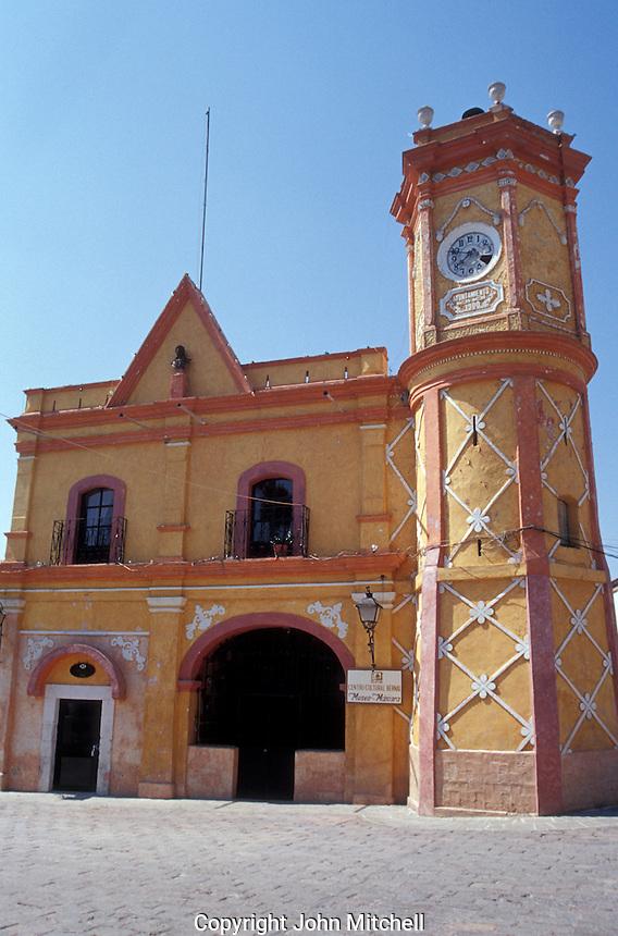 Cultural centre in the village of San Sebastian Bernal, Queretaro state, Mexico