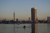 Photos of the Nile River taken during a surise Felucca cruise.