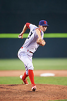 Reading Fightin Phils relief pitcher Hoby Milner (23) during a game against the Portland Sea Dogs on May 31, 2016 at Hadlock Field in Portland, Maine.  Reading defeated Portland 6-4.  (Mike Janes/Four Seam Images)
